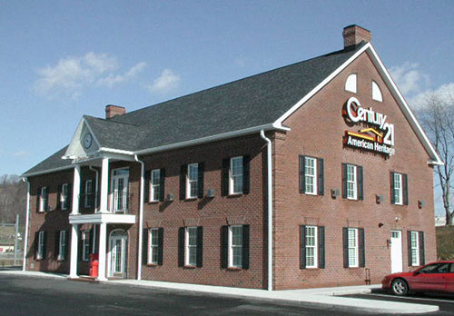 Century 21 building in Allegheny Township